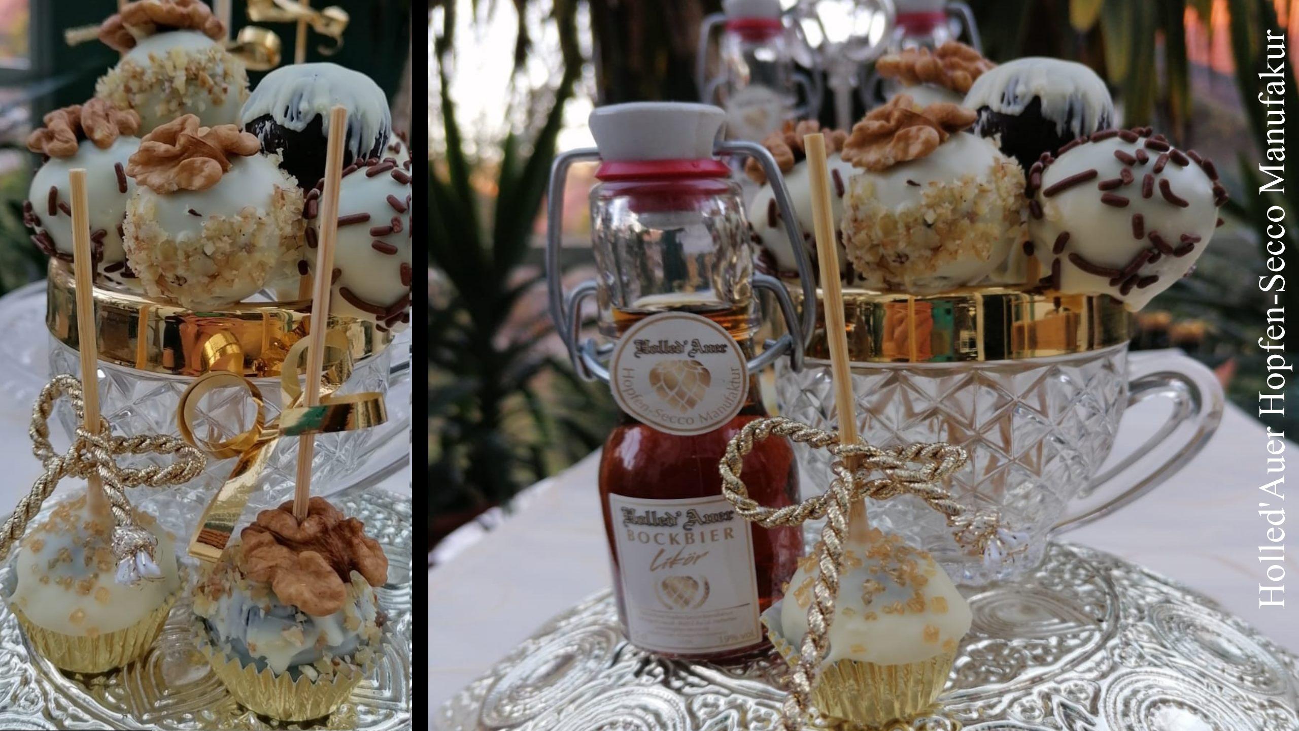 Bockbierlikör Cake-Pops